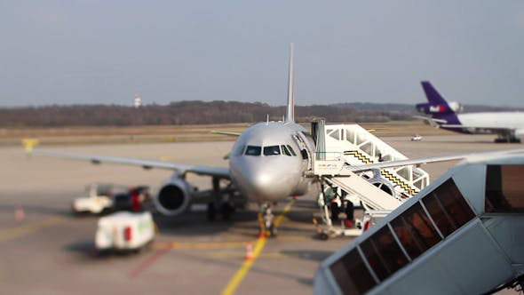 Thumbnail for Bonn Aiport Plane Departure