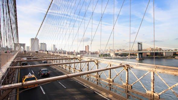 Brooklyn Bridge Cars 02