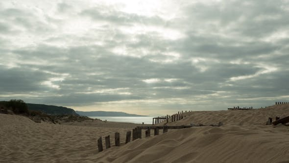 Thumbnail for Cadiz Beach, Protected Dunes, Andalusia Spain