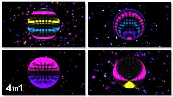 Thumbnail for Neon LED Sphere (4-Pack)
