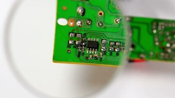 Thumbnail for A Circuit Board with Elements