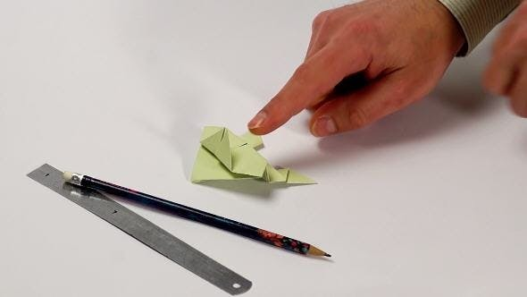 Thumbnail for Origami Frog