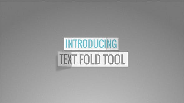 Thumbnail for Text Fold Tool