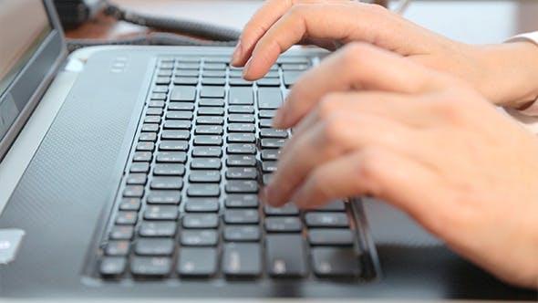 Thumbnail for Typing on Laptop Keyboard