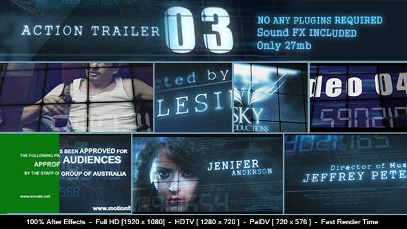 Thumbnail for Action Trailer 3