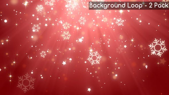 Cover Image for Falling Snowflake Backgrounds