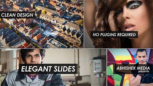 Thumbnail for Diapositives élégantes
