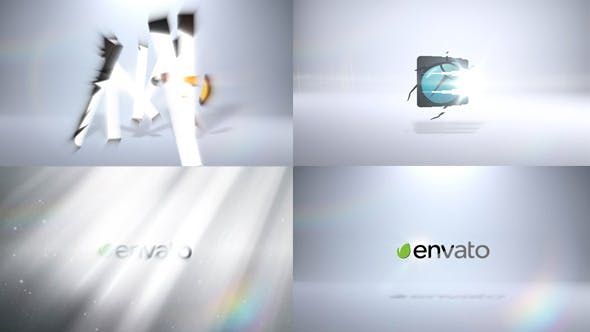 Thumbnail for Crystal Bell Flares - Corporate Logo Pack