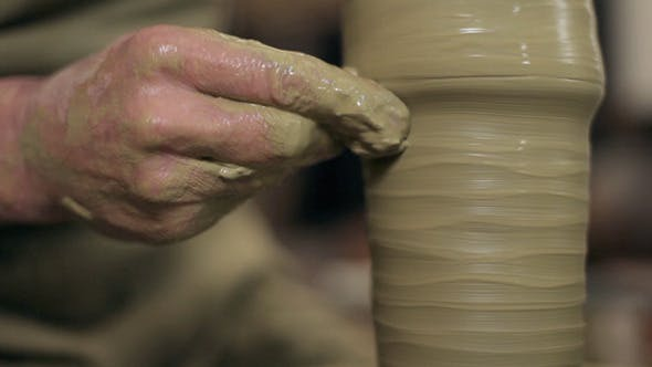Thumbnail for Manufactoring A Vase From Clay