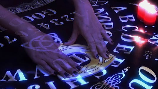 Ouija Board Spiritual Connection Game