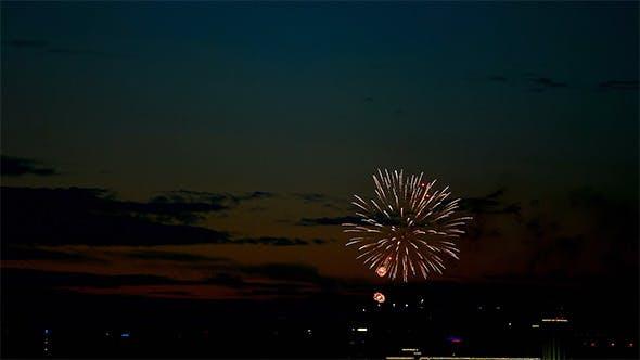 Thumbnail for Evening Fireworks