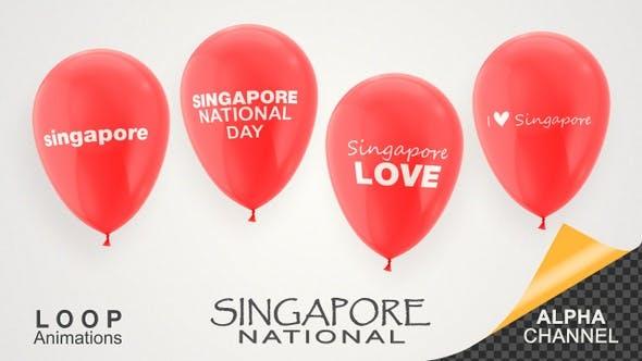Thumbnail for Singapore National Day Celebration Balloons