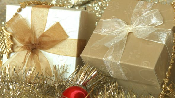 Thumbnail for Gift Box And Christmas Decoration 06