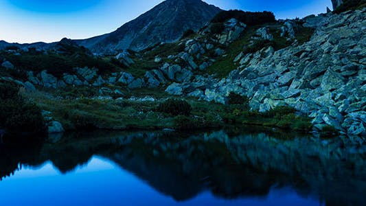 Thumbnail for Sunset Over Lake Mountain