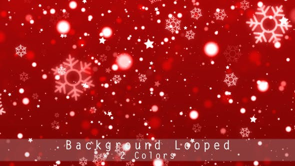 Thumbnail for Christmas Snowflake Backgrounds