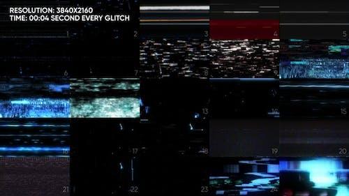 25 Glitch Vhs Pack