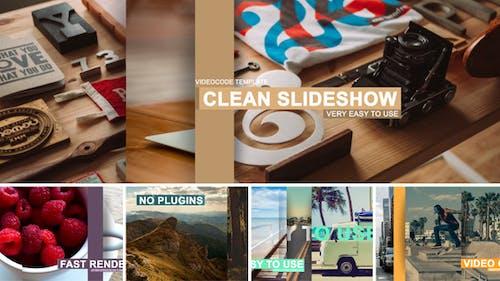 Clean Slideshow