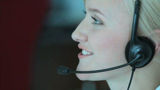 Typing Customer Support Representative