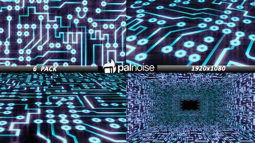 Printed Circuit Board PCB (6-Pack)