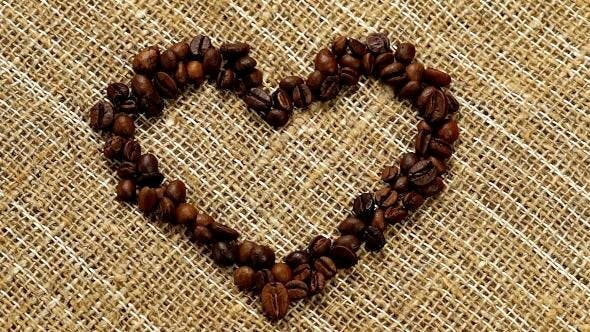 Thumbnail for Heart From Coffee Beans