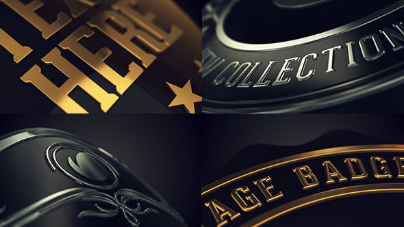 Thumbnail for Vintage Logo Badges Package