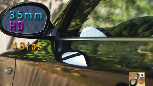 Thumbnail for View Of Drivers Side Mirror Of A Sports Car