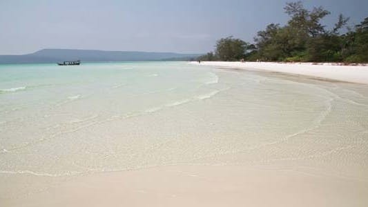 Thumbnail for White Sand And Crystal Water Beach, Koh Rong