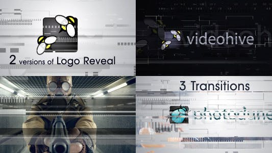 """722 """"transitions"""" Video Templates Compatible with Adobe After Effects"""