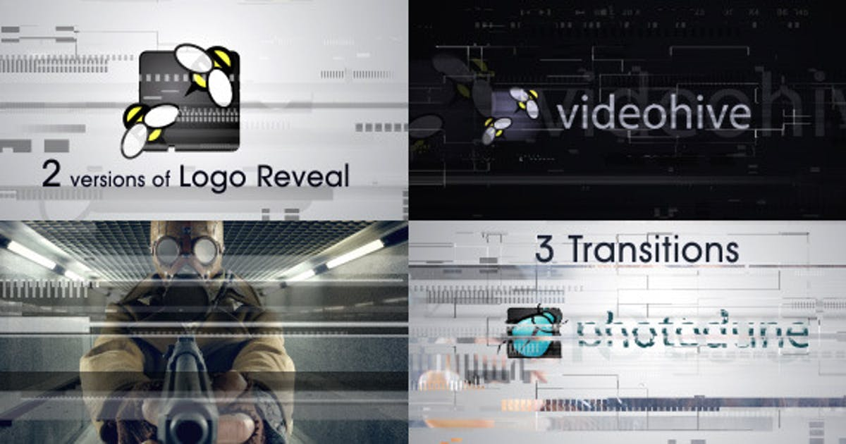 Download Glitch Logo and Transitions by TimMG