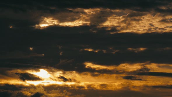 Thumbnail for Contrasty Golden Clouds