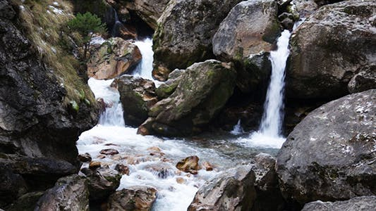 Thumbnail for Waterfall in the Mountain 5