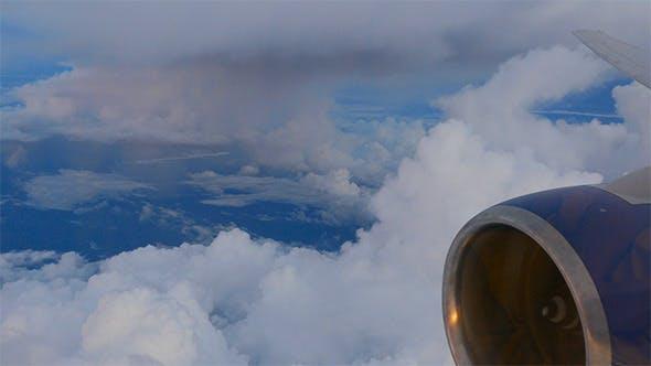 Multilayered Cumulus Clouds