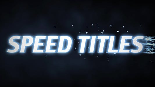 Thumbnail for Speed Titles