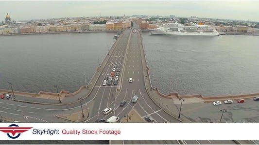 Thumbnail for Saint Petersburg Bridge Aerial 15