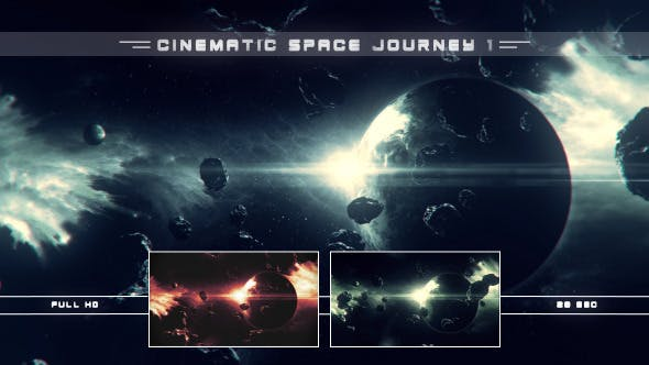 Thumbnail for Cinematic Space Journey