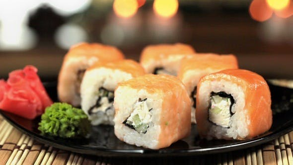 Thumbnail for Traditional Japanese Food Sushi
