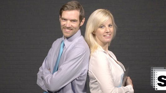 Thumbnail for Smiling Business Couple 2