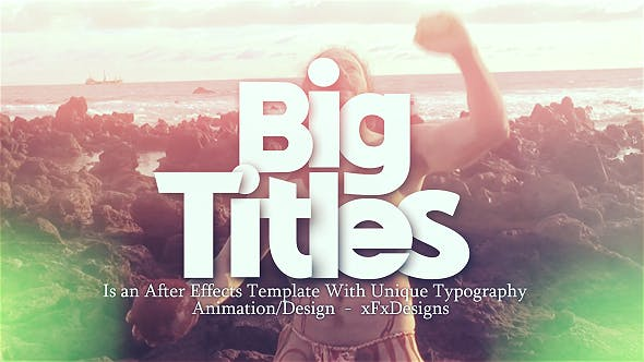 Thumbnail for Big Titles Motivational Opener