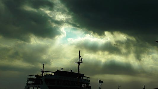 Cover Image for Clouds and Dock