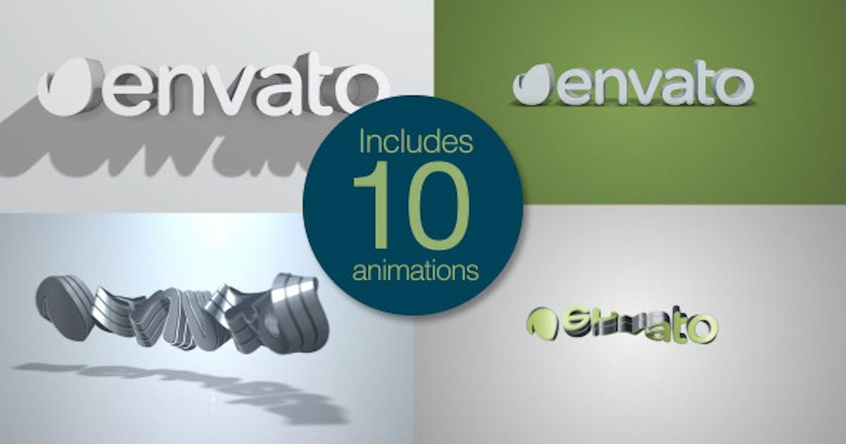 Download Quick Clean 3D Logo Pack by NeuronFX