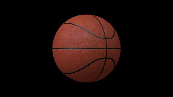 Thumbnail for Basketball Ball Animation