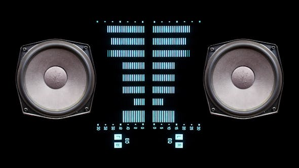 Thumbnail for Music Graphic Equalisers Speakers