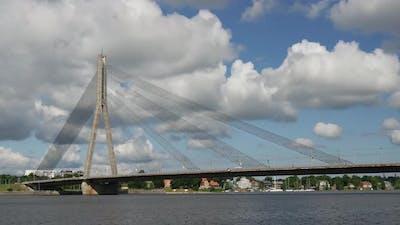 Time lapse from the Vanšu Bridge