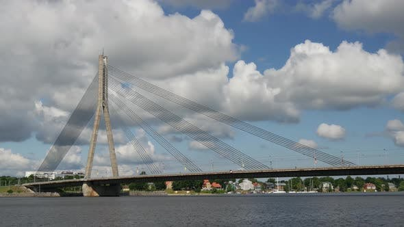 Time lapse from the Vanšu Bridge