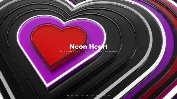 Thumbnail for Neon Heart Glitter 3