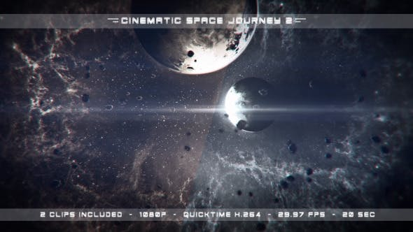 Thumbnail for Cinematic Space Journey 2