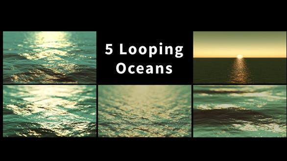 Thumbnail for Tilt Shift Ocean Package