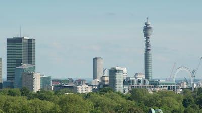 London Skyline England 7