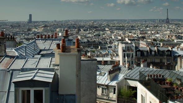 Thumbnail for Montmatre Rooftops, Paris France 3