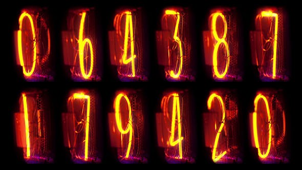 Nixie Clock Numerical Counter 21
